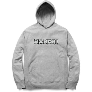 Nandri Hoodie (White Text) - Unisex - Madras Merch Market