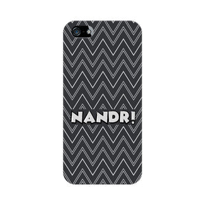 Nandri Phone Cover (White Text) (Apple, Samsung, Vivo and OnePlus) - Madras Merch Market