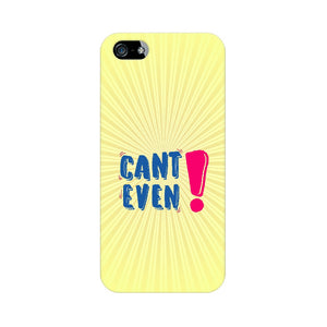 Can't Even Phone Cover (Blue Text) (Apple, Samsung, Vivo and OnePlus) - Madras Merch Market