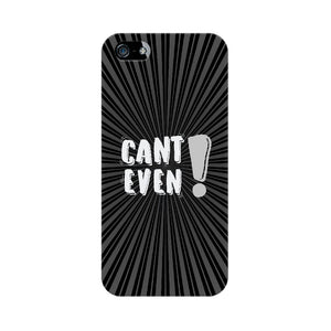 Can't Even Phone Cover (White Text) (Apple, Samsung, Vivo and OnePlus) - Madras Merch Market