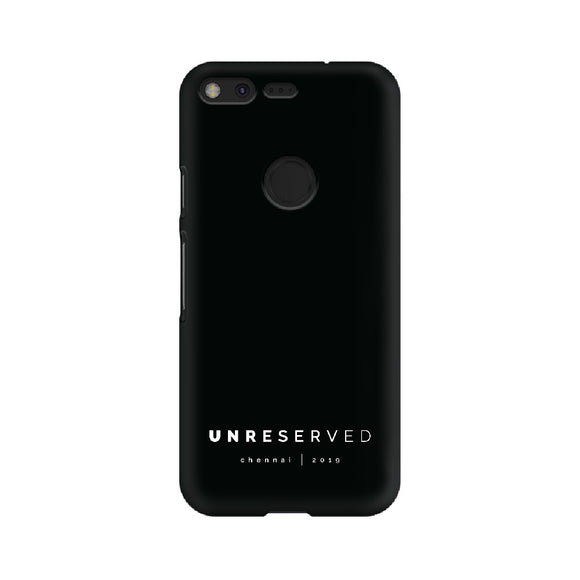 UNRESERVED Phone Cover (White Text) (Google Pixel, Oppo, Sony Xperia, Nokia, Huawei Honor, Moto and Xiaomi Redmi) - Madras Merch Market