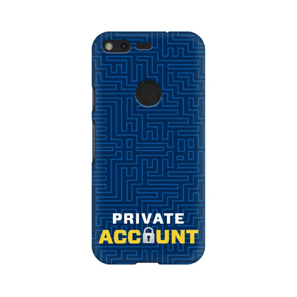 Private Account Phone Cover (Google Pixel, Oppo, Sony Xperia, Nokia, Huawei Honor, Moto and Xiaomi Redmi) - Madras Merch Market