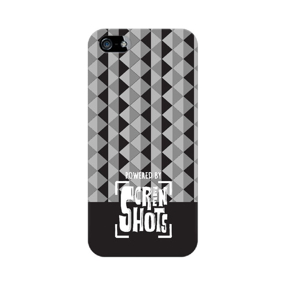 Powered By Screenshots Phone Cover (White Text) (Apple, Samsung, Vivo and OnePlus) - Madras Merch Market