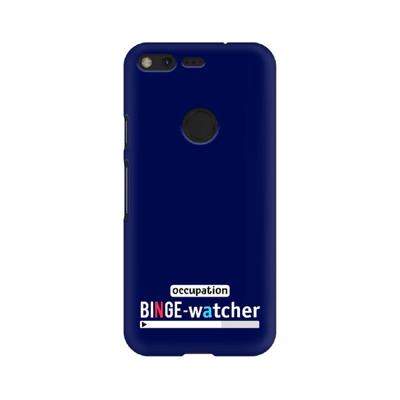 Binge-Watcher Phone Cover (Google Pixel, Oppo, Sony Xperia, Nokia, Huawei Honor, Moto and Xiaomi Redmi) - Madras Merch Market