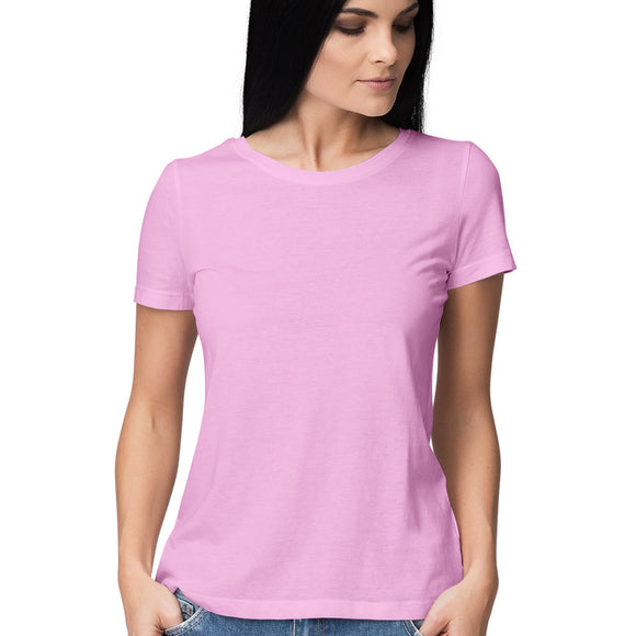 Solid Colour T-shirt - Women - Madras Merch Market