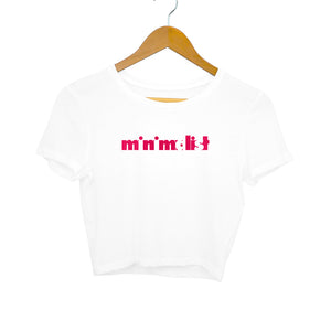 Minimalist Crop Top - Women - Madras Merch Market