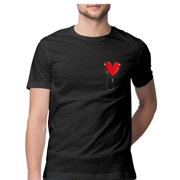 Listen to your heart T-shirt - Unisex - Madras Merch Market