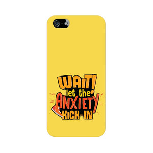Let the Anxiety Kick-in Phone Cover (Apple, Samsung, Vivo and OnePlus) - Madras Merch Market