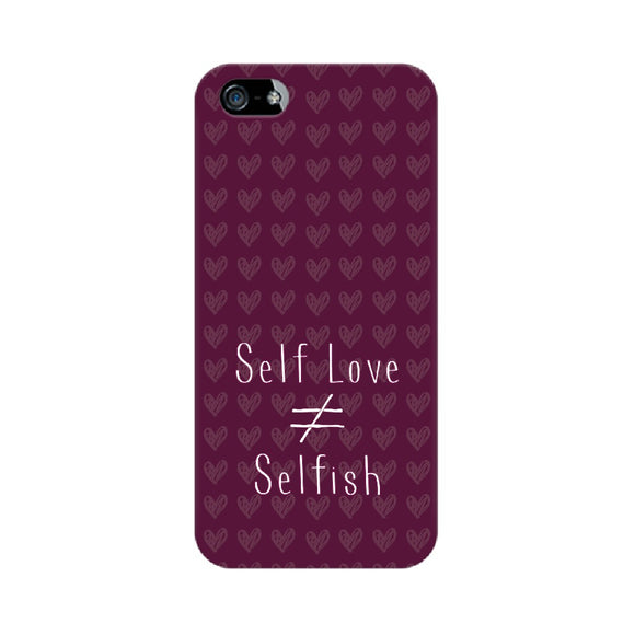 Self Love is not equal to Selfish Phone Cover (Apple, Samsung, Vivo and OnePlus) - Madras Merch Market