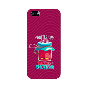 Bottle Up Jam Not Your Emotions Phone Cover (Apple, Samsung, Vivo and OnePlus) - Madras Merch Market