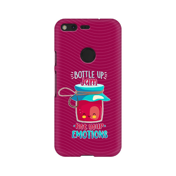 Bottle Up Jam Not Your Emotions Phone Cover (Google Pixel, Oppo, Sony Xperia, Nokia, Huawei Honor, Moto and Xiaomi Redmi) - Madras Merch Market
