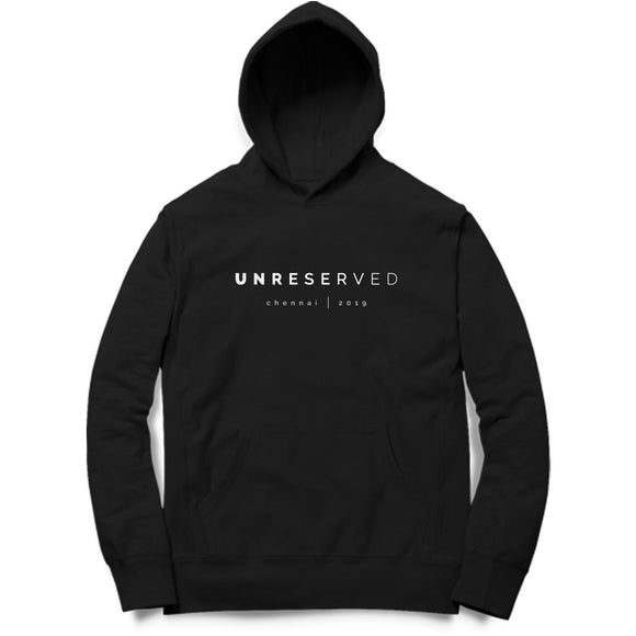 UNRESERVED Hoodie - Unisex - Madras Merch Market