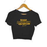 Evalo Adichaalum Thaanguvom - Class of 2020 Crop Top - Women - Madras Merch Market