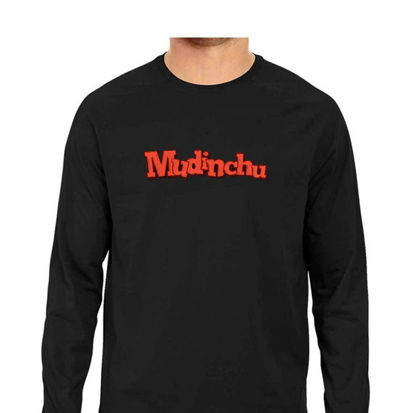 Mudinchu Full-Sleeve T-shirt - Unisex - Madras Merch Market