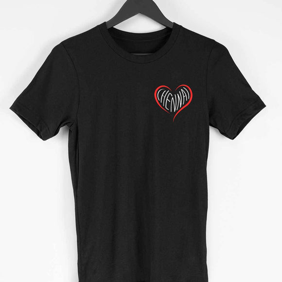 Love Chennai T-shirt - Unisex - Madras Merch Market