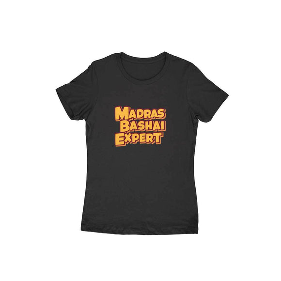Madras Bashai Expert T-shirt - Women - Madras Merch Market