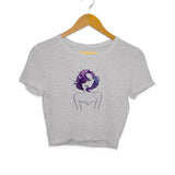 All In Your Head Crop Top - Women - Madras Merch Market