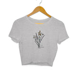 Wild and Beautiful Crop Top - Women - Madras Merch Market