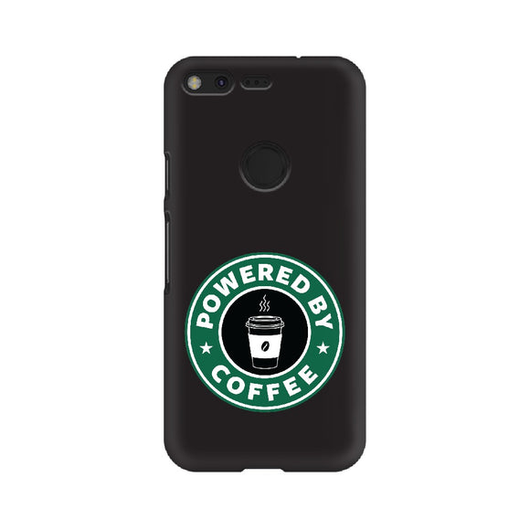 Powered By Coffee Phone Cover (Google Pixel, Oppo, Sony Xperia, Nokia, Huawei Honor, Moto and Xiaomi Redmi) - Madras Merch Market