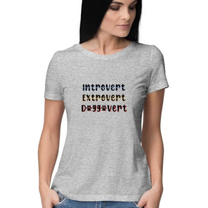 Doggovert T-shirt - Women - Madras Merch Market