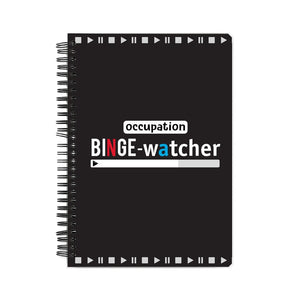 Binge Watcher Notebook - Madras Merch Market