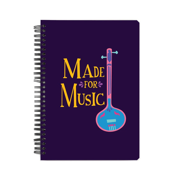 Made for Music Colour-pop Notebook - Madras Merch Market
