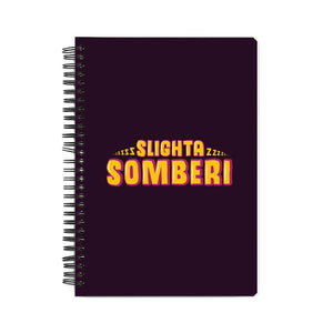Slighta Somberi Notebook - Madras Merch Market