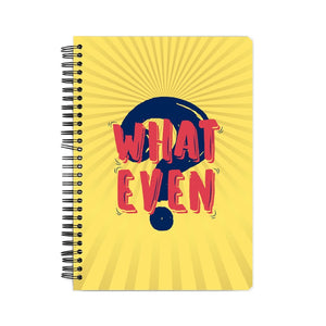 What Even Notebook - Madras Merch Market