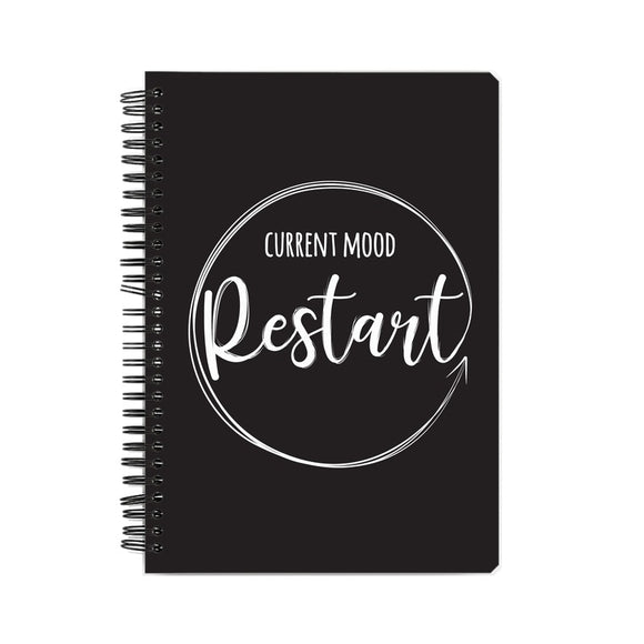 Current Mood Restart Notebook - Madras Merch Market
