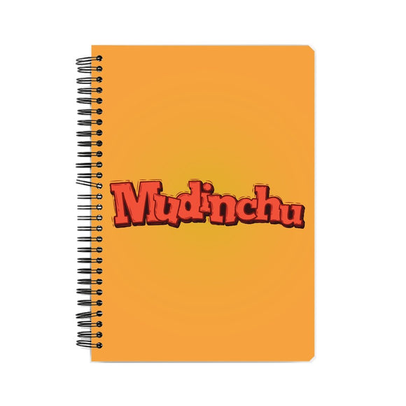 Mudinchu Notebook - Madras Merch Market