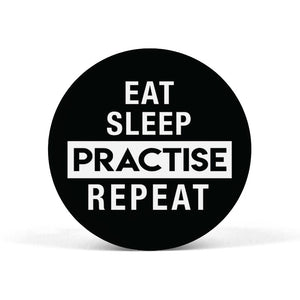 Eat Sleep Practise Repeat Popgrip - Madras Merch Market