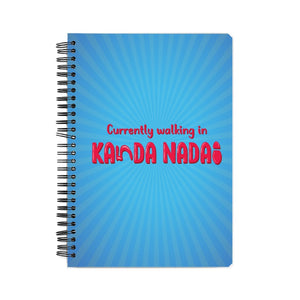 Kanda Nadai Notebook - Madras Merch Market
