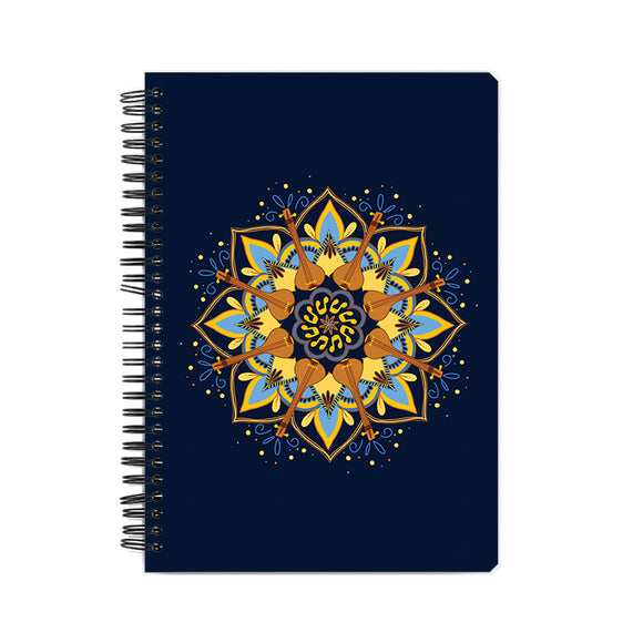 Tambura Mandala Notebook - Madras Merch Market