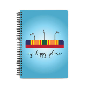 My Happy Place Notebook - Madras Merch Market