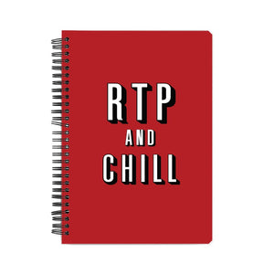 RTP and CHILL Notebook - Madras Merch Market