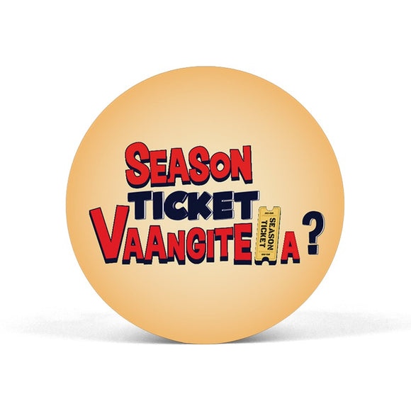 Season Ticket Vaangitela Popgrip - Madras Merch Market