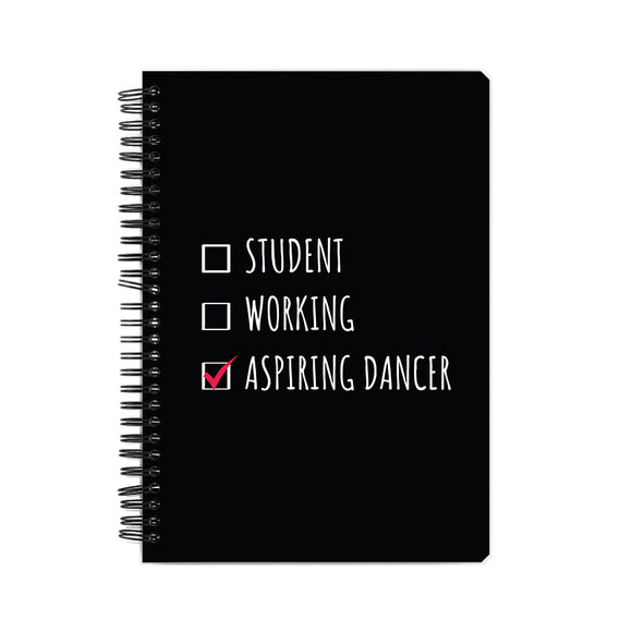 Aspiring Dancer Notebook - Madras Merch Market