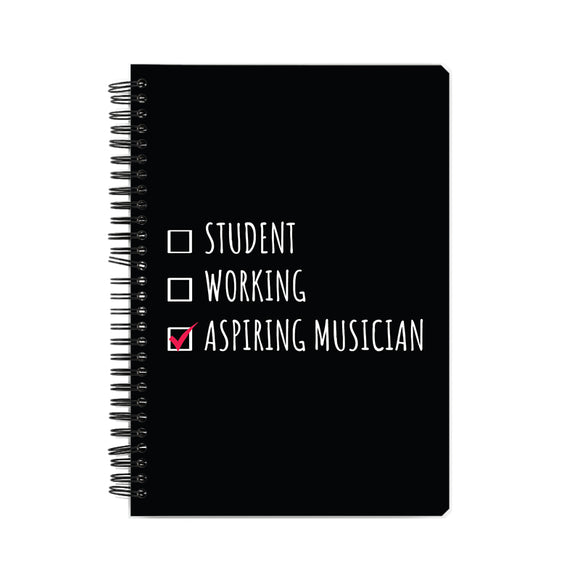 Aspiring Musician Notebook - Madras Merch Market