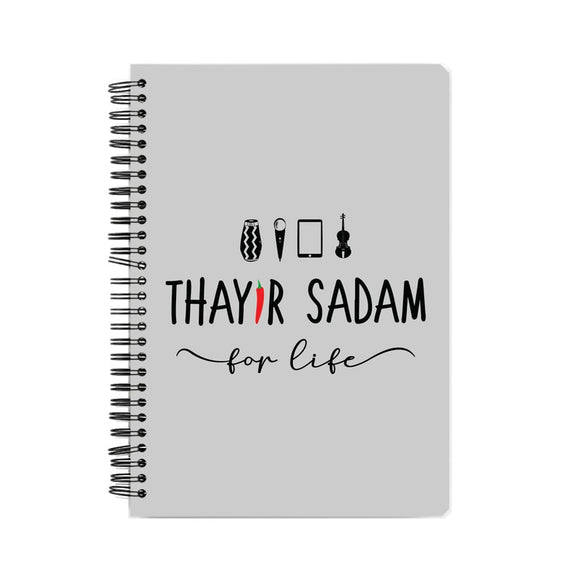 Thayir Sadam Project x MMM Notebook - Madras Merch Market