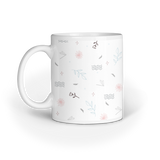 Flower Pattern Mug - Madras Merch Market
