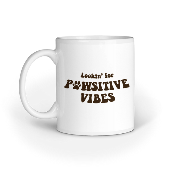 Lookin' for Pawsitive Vibes Mug - Madras Merch Market