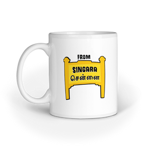 From Singara Chennai Mug - Madras Merch Market