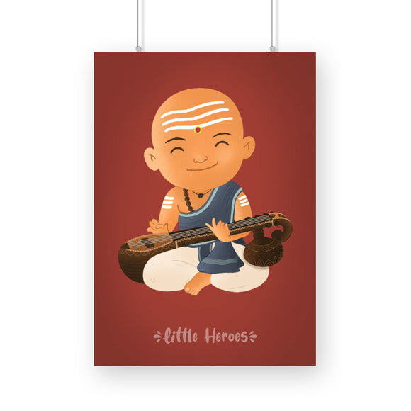 Little Dikshu A4 Poster