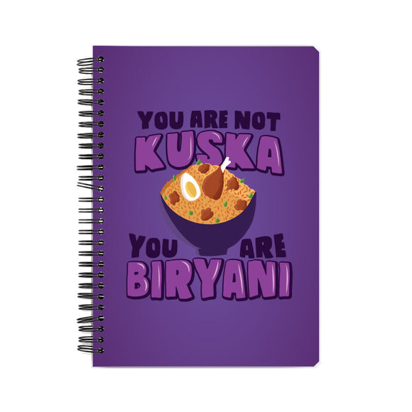 You are Biryani Notebook