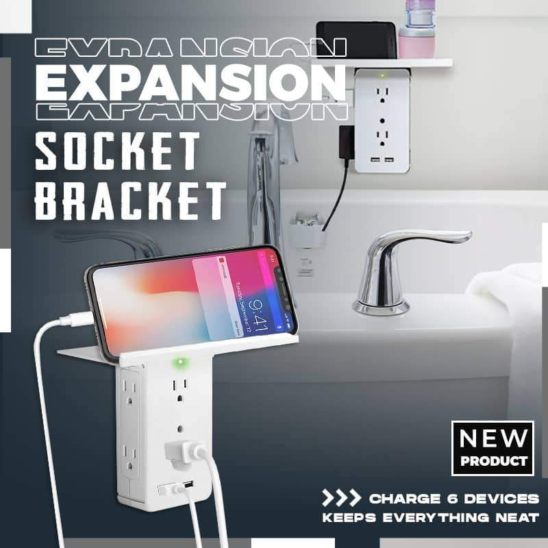 (50% OFF)Expansion Socket & Bracket