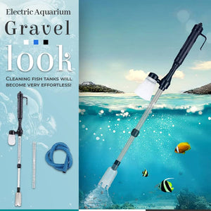Electric Aquarium Gravel Cleaner