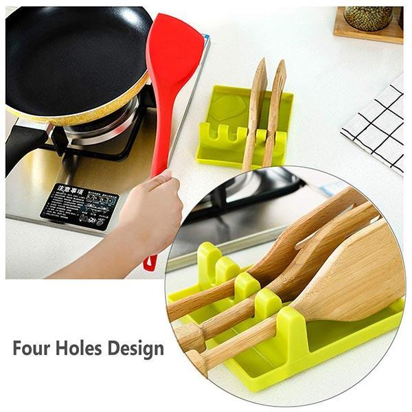 Multifunction Kitchen Spatula Rack ( Buy 2 Save $5.98 )