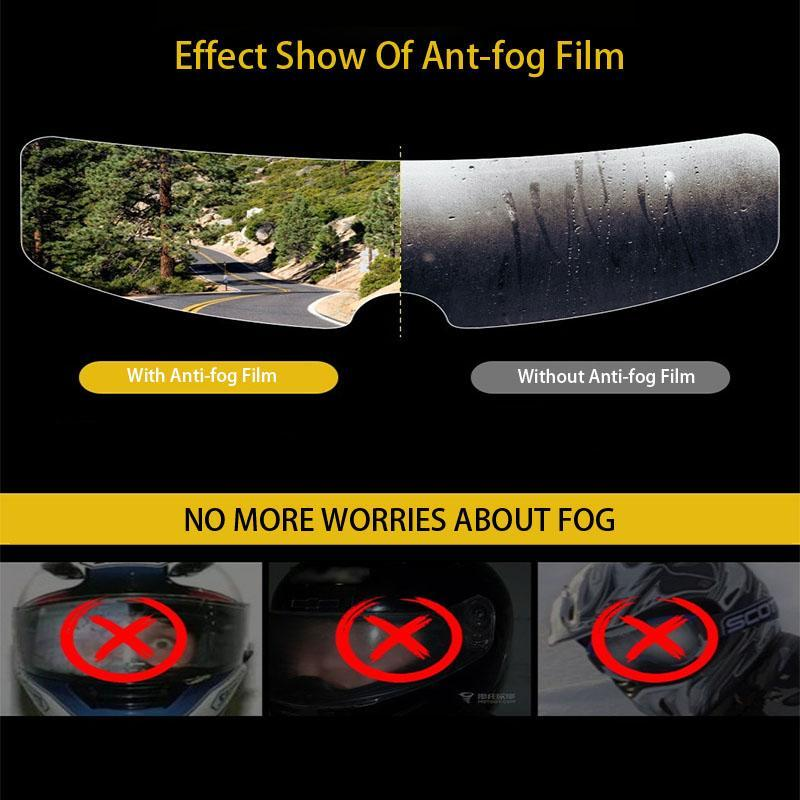 Rainproof Anti-fog Helmet Patch