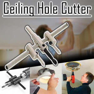 Adjustable Aircraft Type Hole Opener