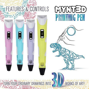 New Upgrade 3D Printing Pen Set